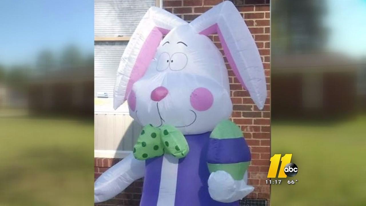 Family Easter Bunny stolen