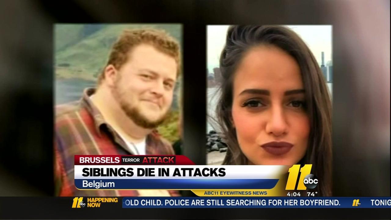 Siblings die in attacks