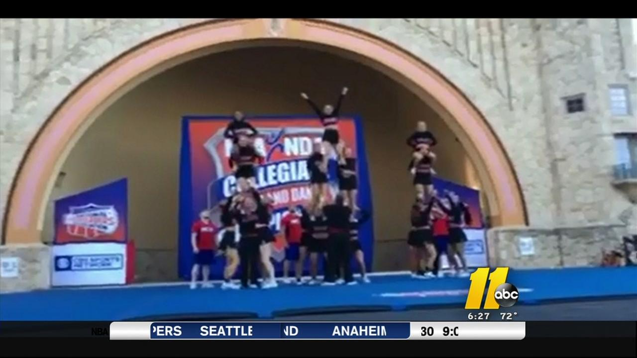 NC State cheerleading brings home championship
