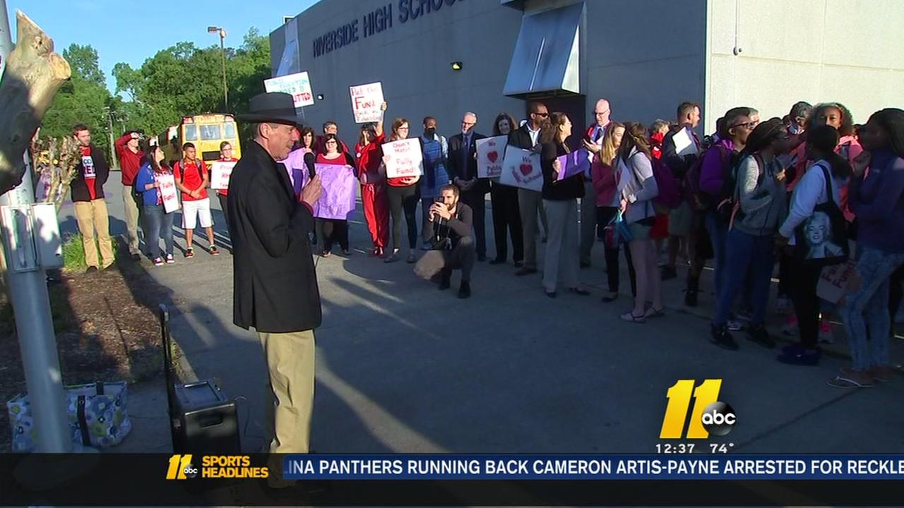 Teachers try not to be overshadowed by HB2