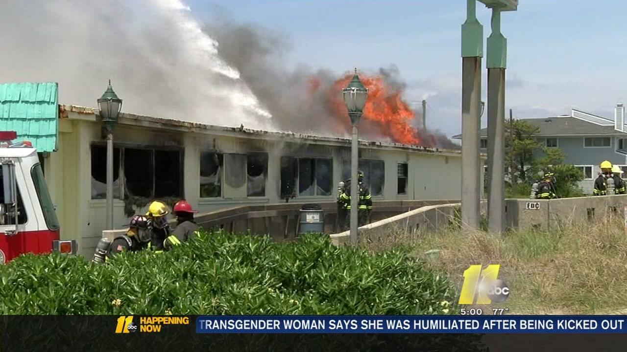 Fire destroys Wrightsville Beach shop