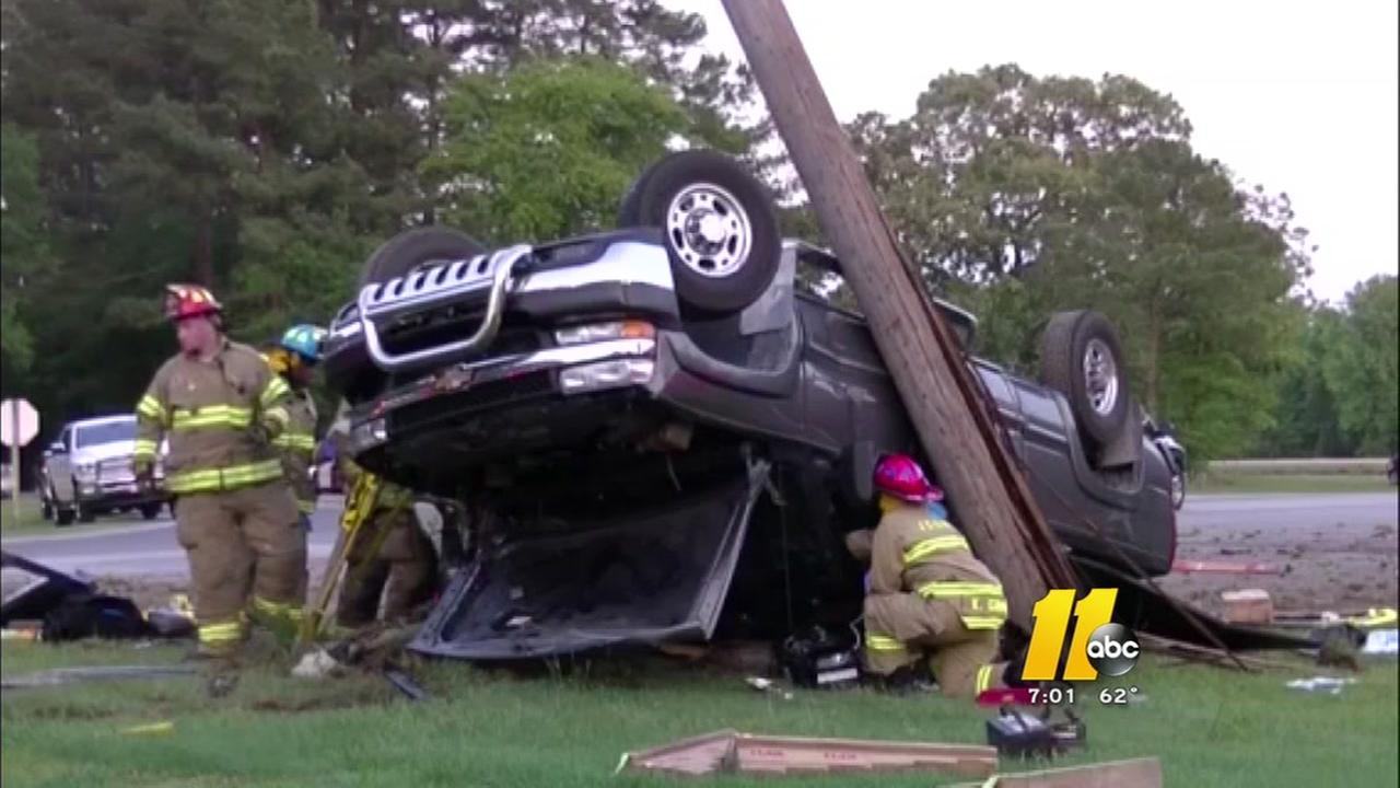 Crash in Kenly