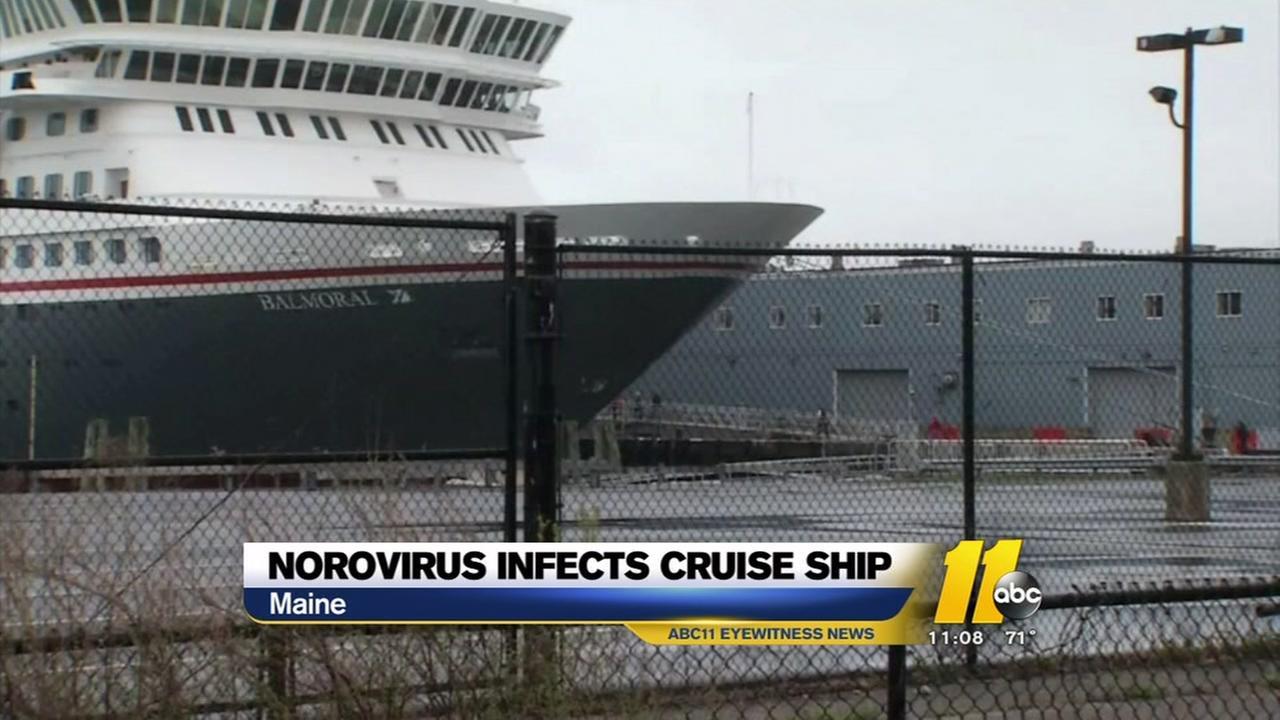 Norovirus infects cruise ship