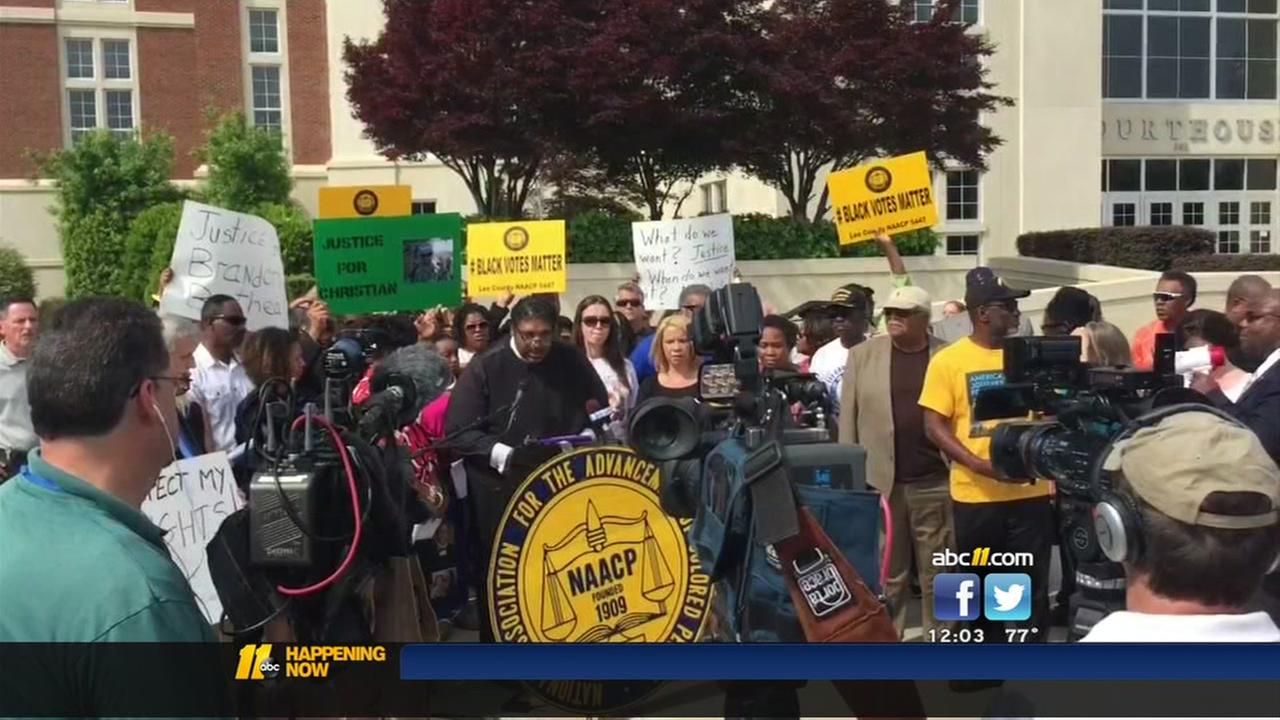 NAACP calls for wider Harnett County investigation