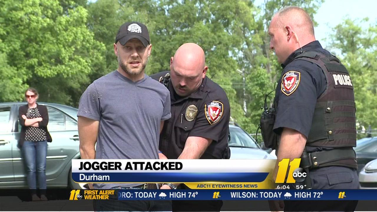 Durham man charged with attempted rape of jogger