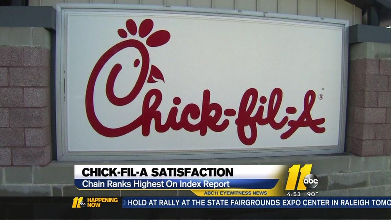 Chick-fil-A ranks highest on satisfaction on index report