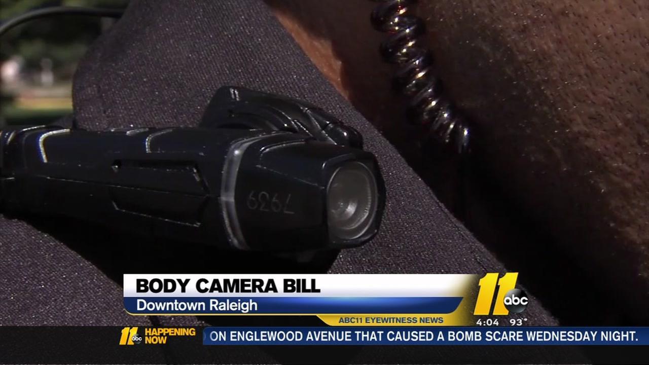Body cam bill