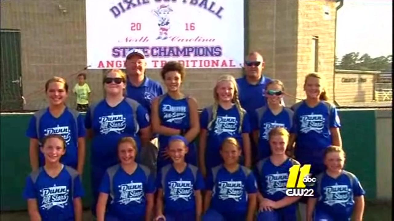 Dunn softball team