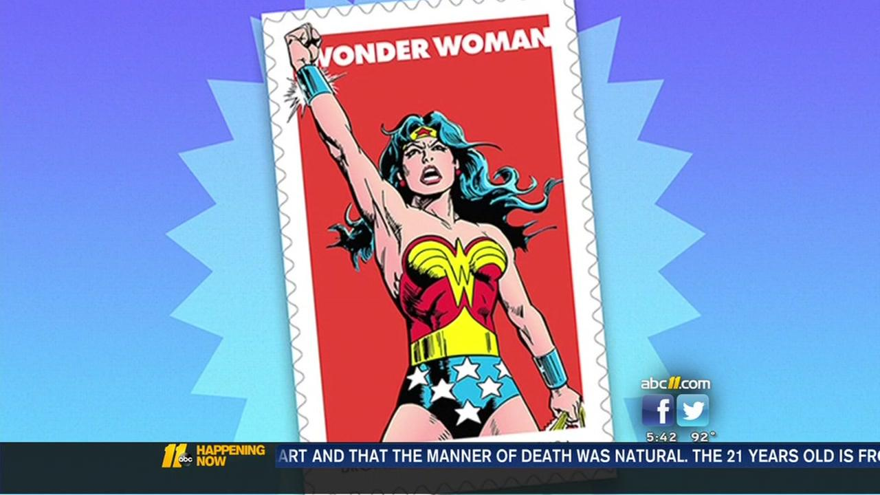 Wonder Woman stamps unveiled