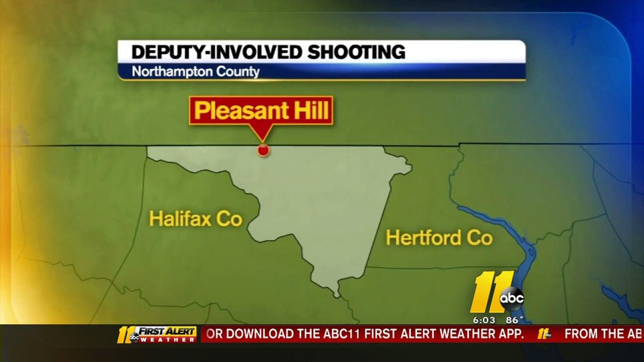 Deputy-involved shooting in Northampton County
