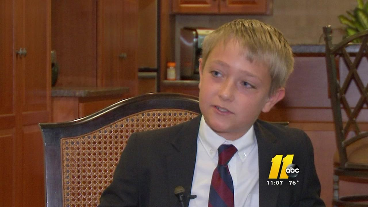 Young Trump supporter is all business
