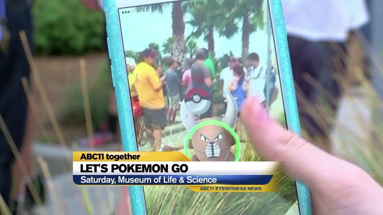 Museum sponsors Pokemon Go day