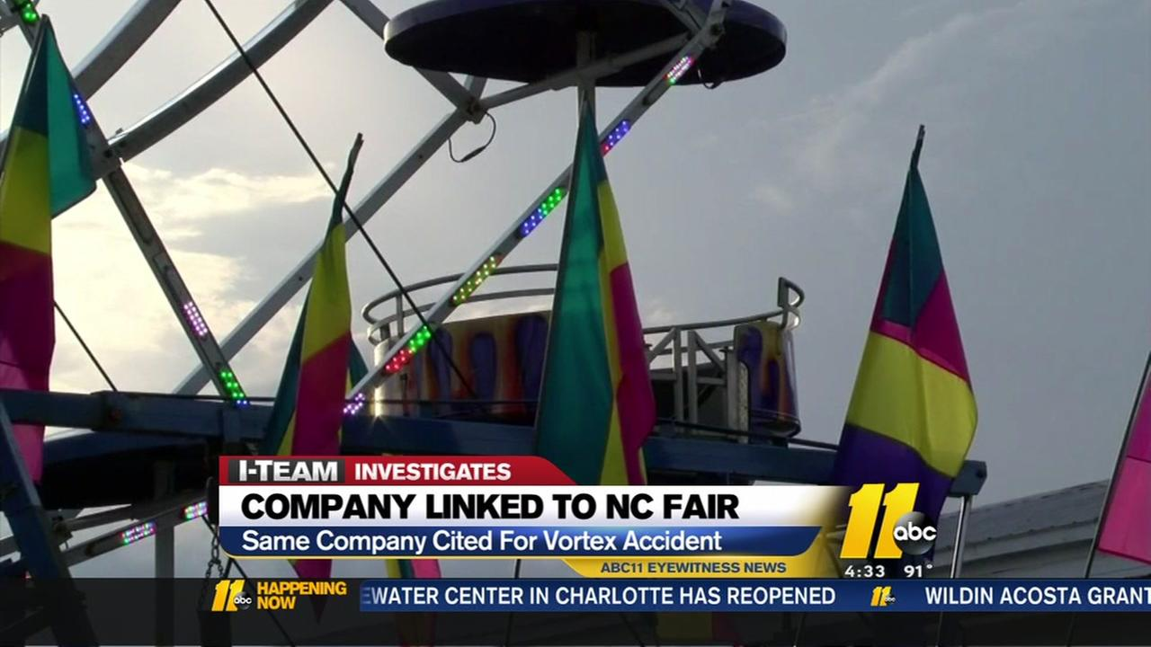 Company linked to NC Fair