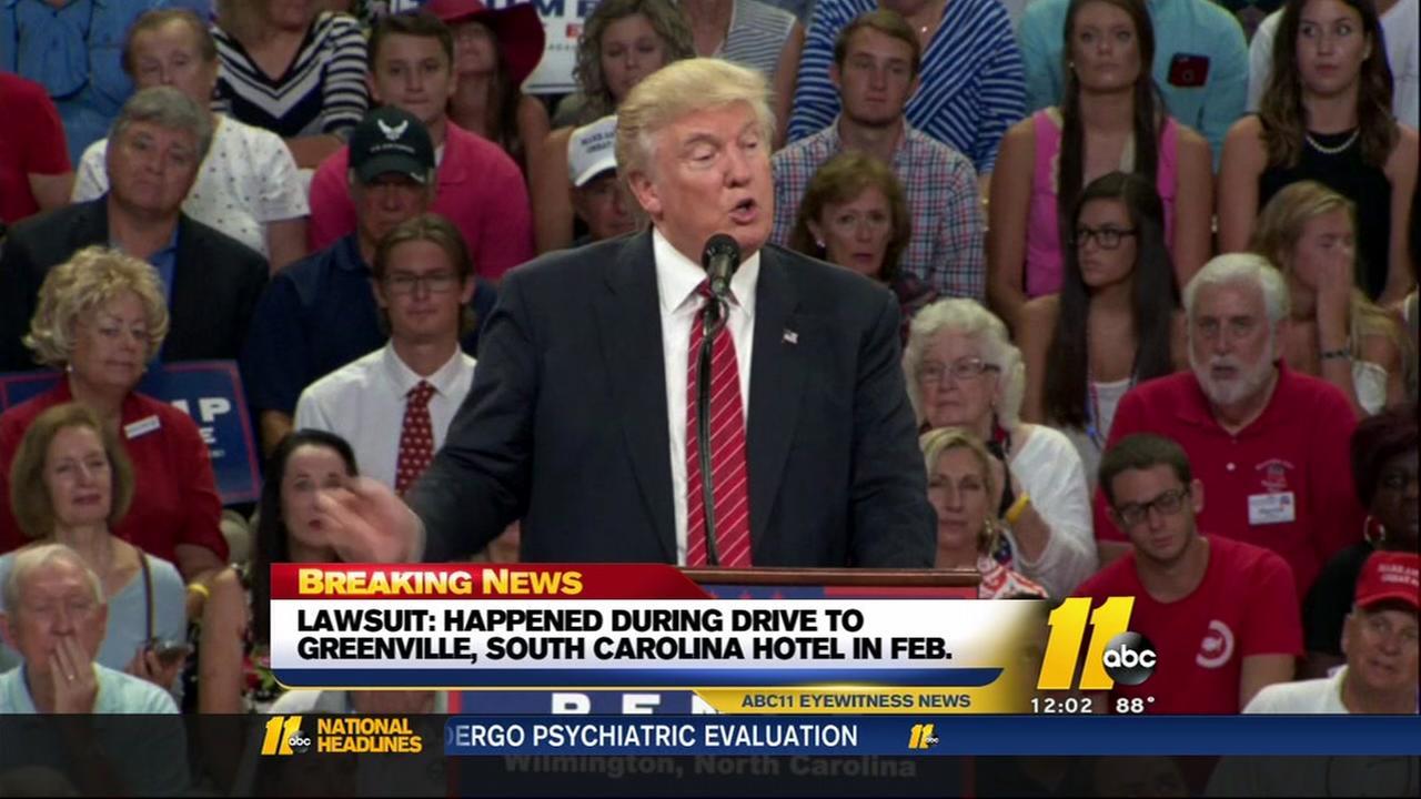 Trump campaign facing lawsuit