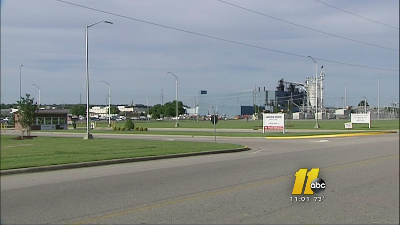 Fire breaks out at tire plant in Wilson