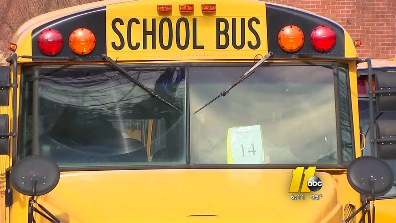 Whats going on with Wake County school buses?