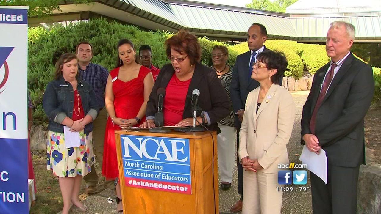 NCAE says Pat McCrorys math on teacher pay doesnt add up