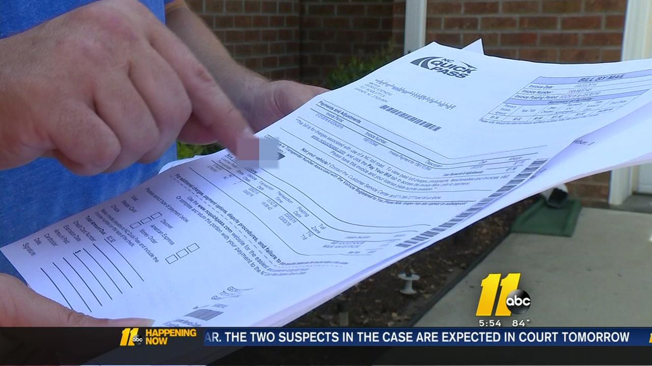 Man fed up after Triangle Expressway bill mix-up