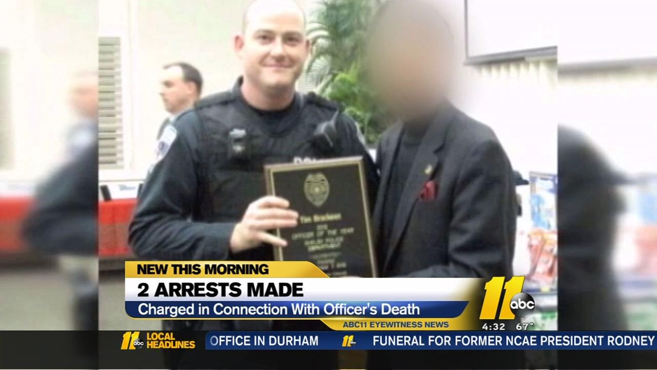 Suspect accused of killed Shelby police officer arrested
