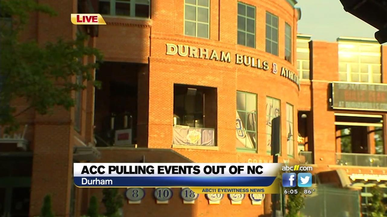 ACC pulling events out of NC over HB2