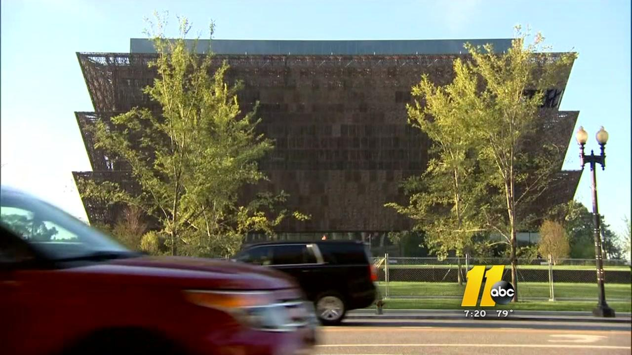 Smithsonian African American Museum opens