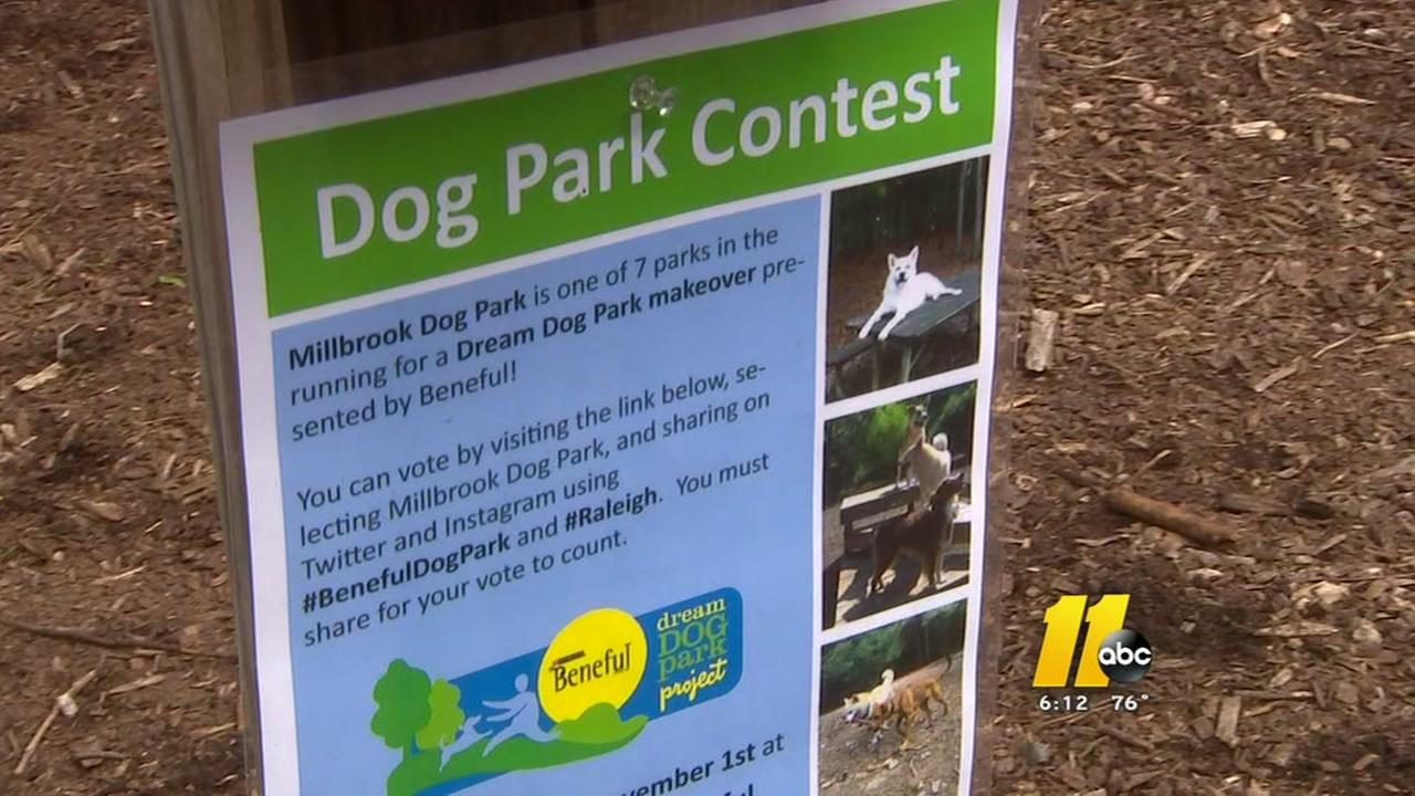 Raleigh dog park in the running for makeover in online contest