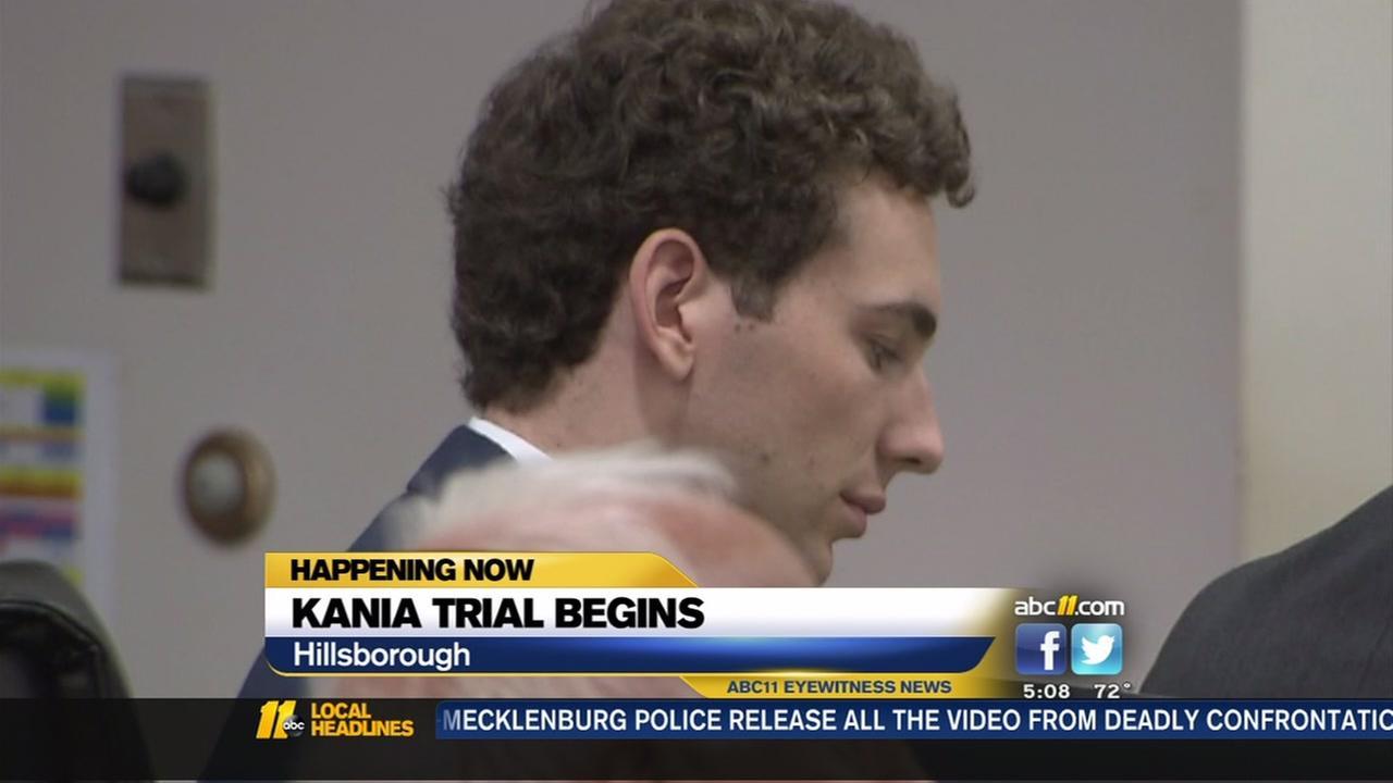 Kania trial begins