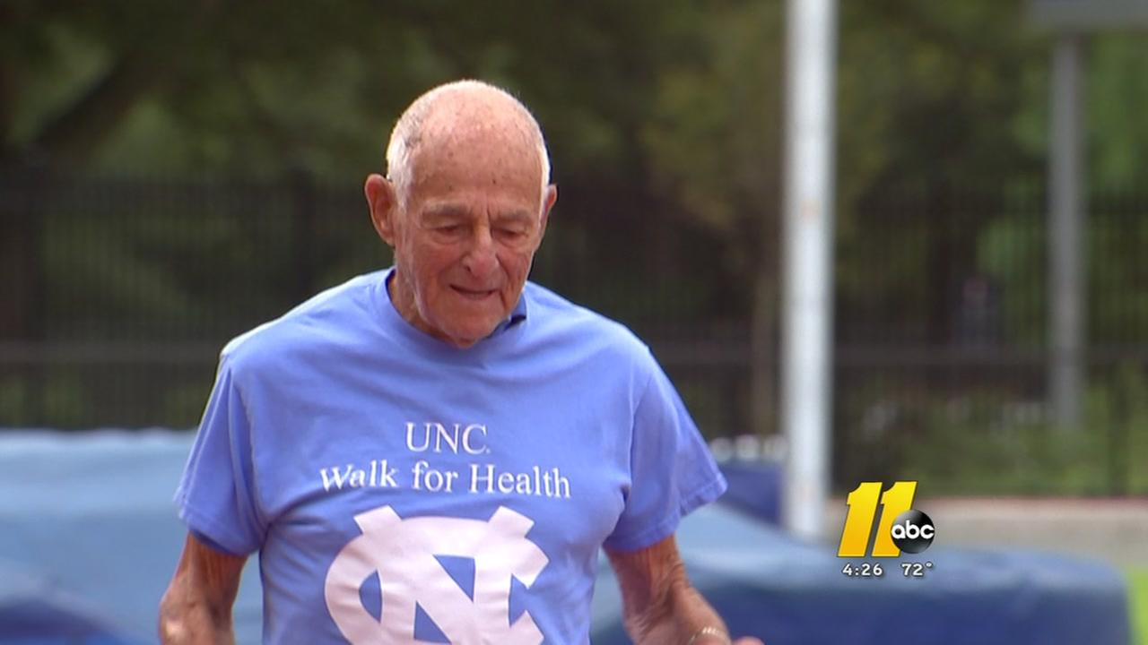 96-year-old man shows importance of exercise