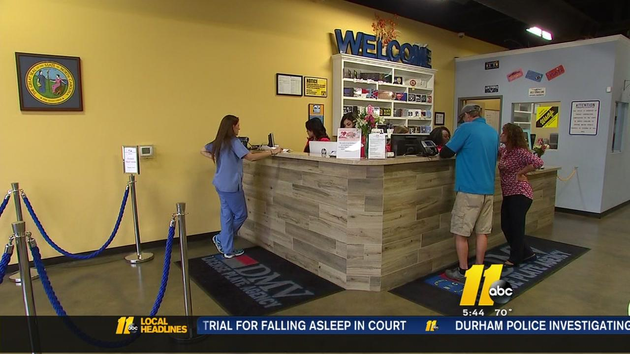 Holly Springs DMV a departure from the norm