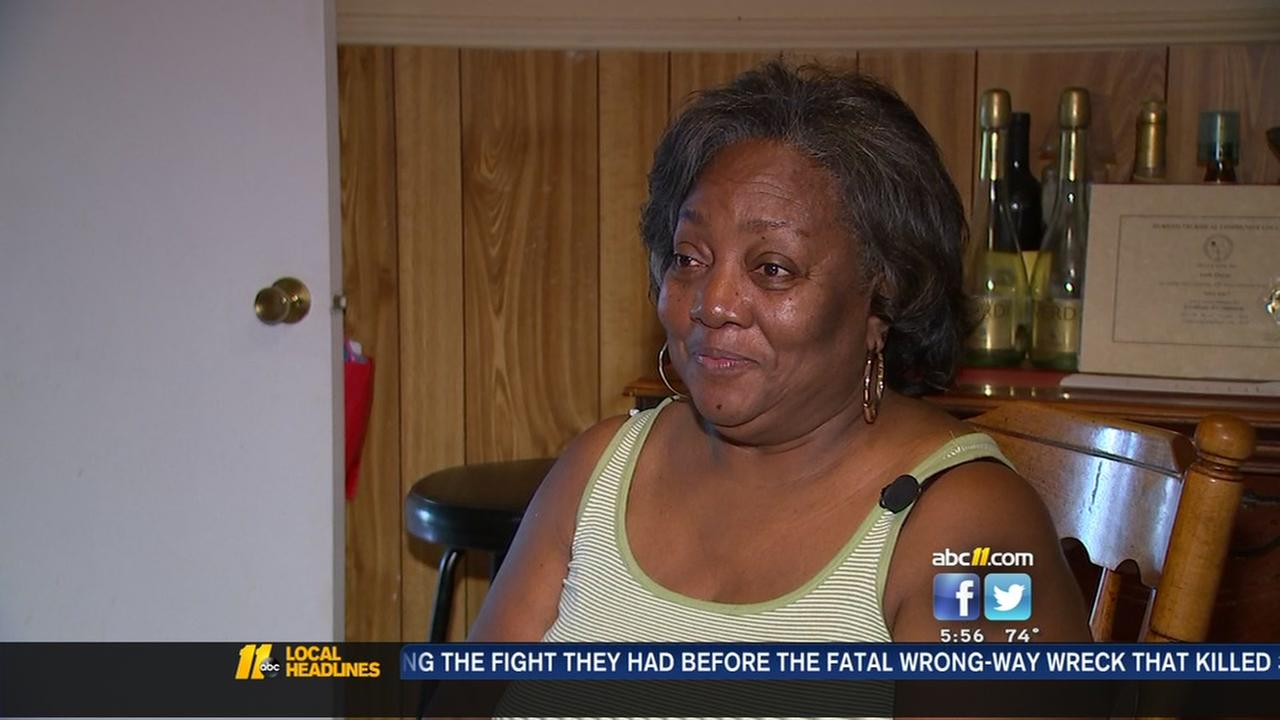 Roof repair leaves Durham woman in the cold