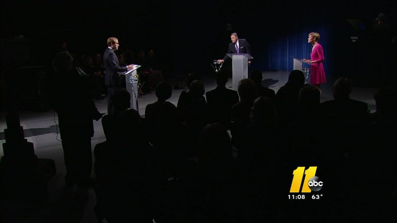 NC Senate seat debate