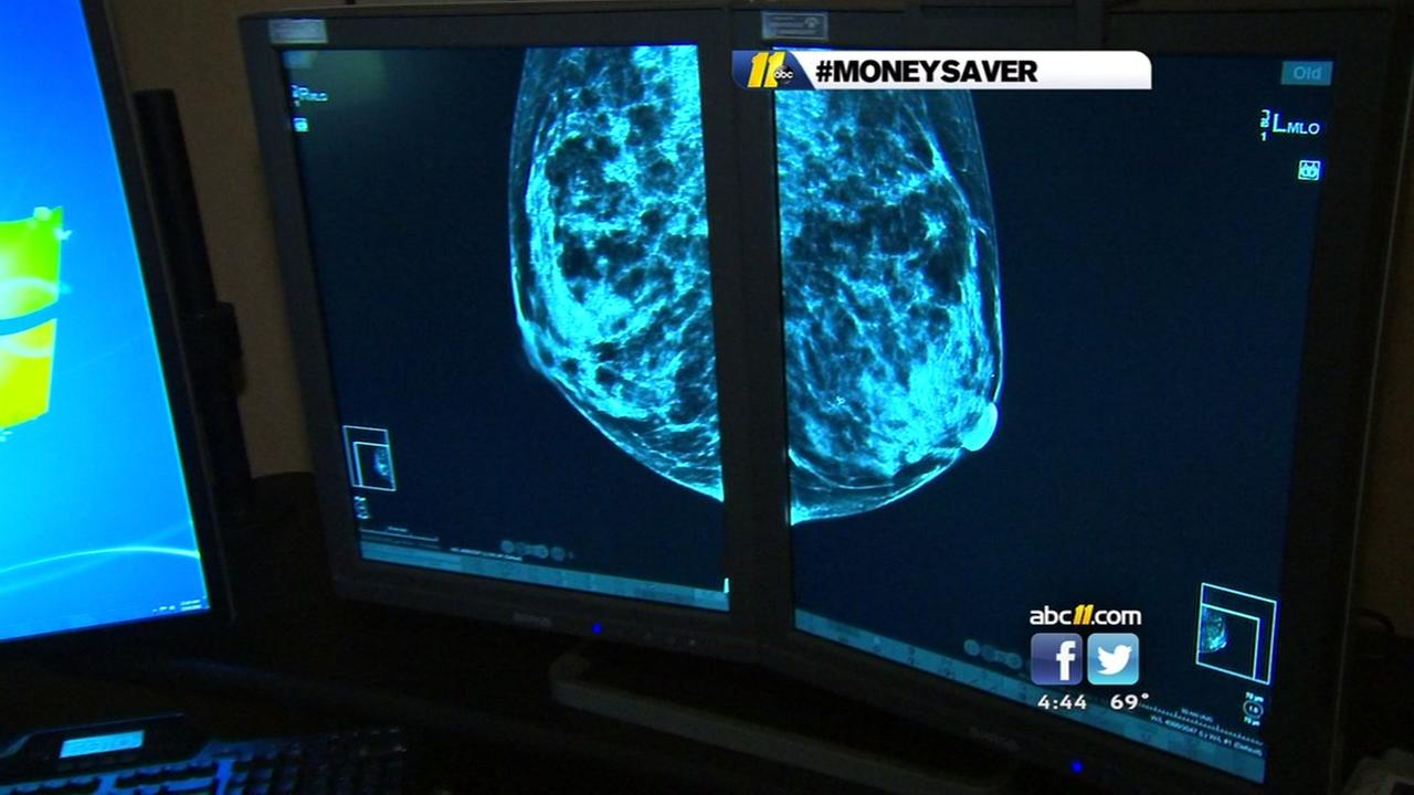 Free mammograms offered in Raleigh