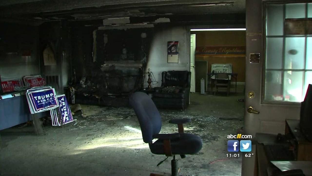 Orange County GOP headquarters firebombed