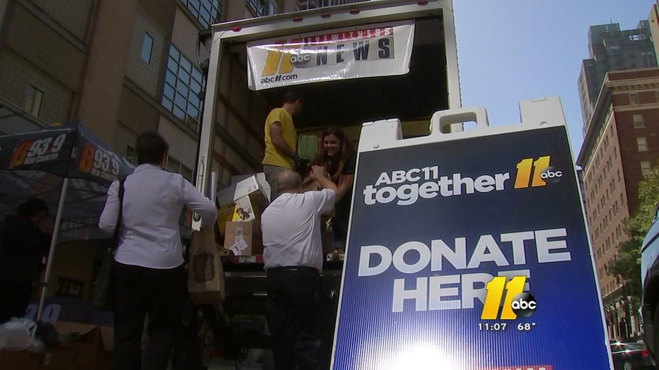Viewers, partners and community help make food drive a huge success