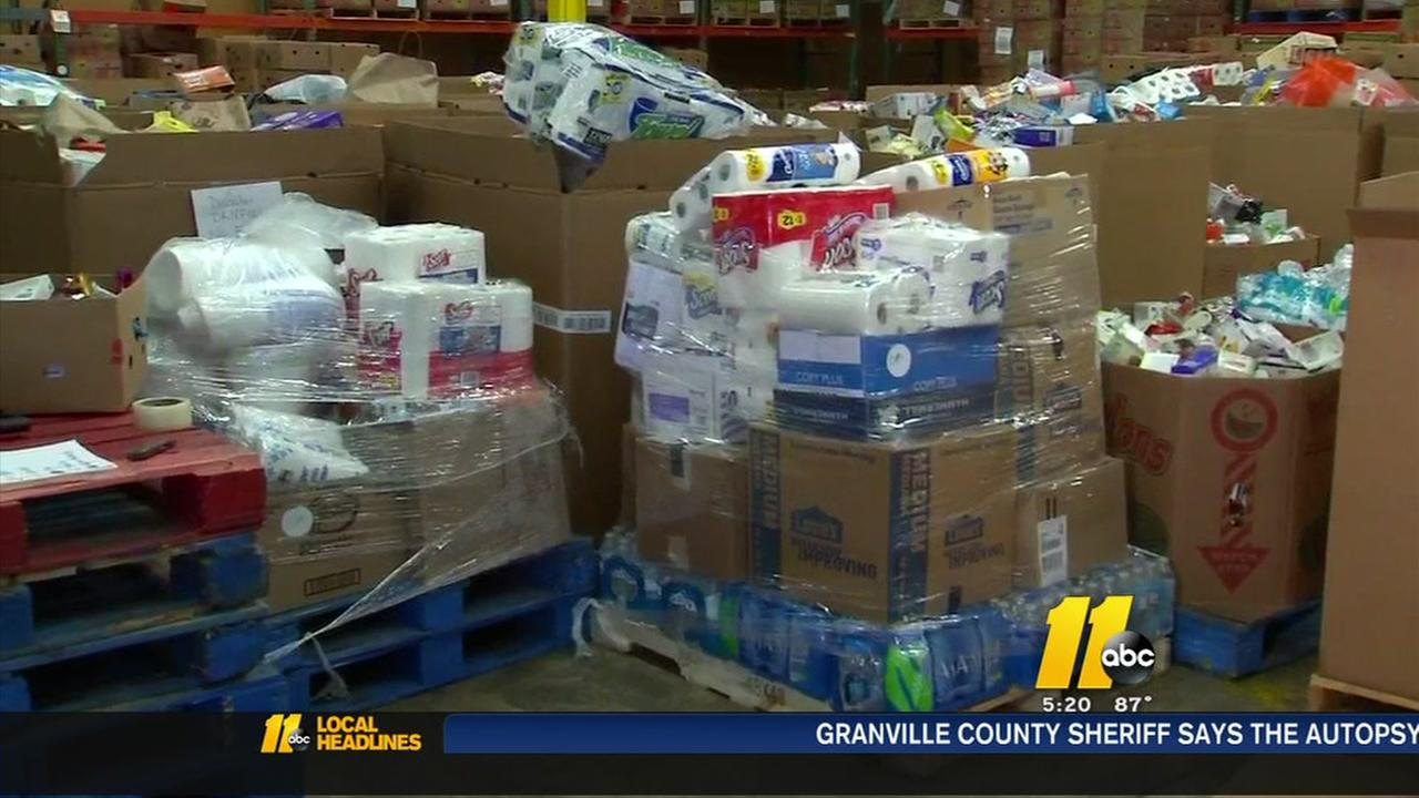 Food drive donations to help those in need