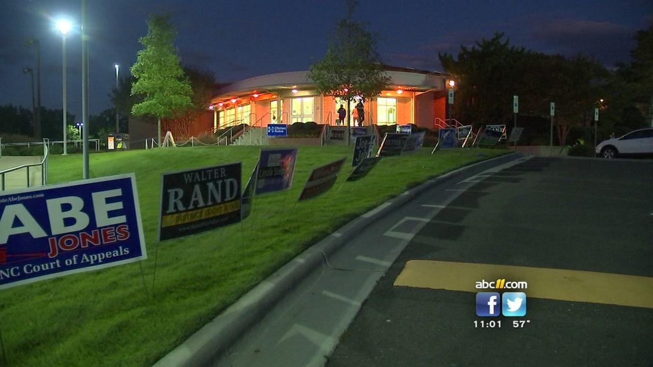 Early voting continues in NC