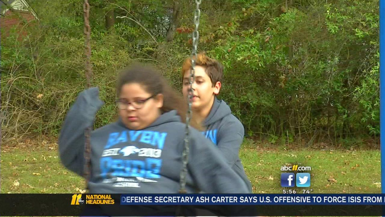 Rocky mount girl overcomes bullying after brother writes letter to rocky mount girl overcomes bullying after brother writes letter to santa abc11 spiritdancerdesigns Choice Image