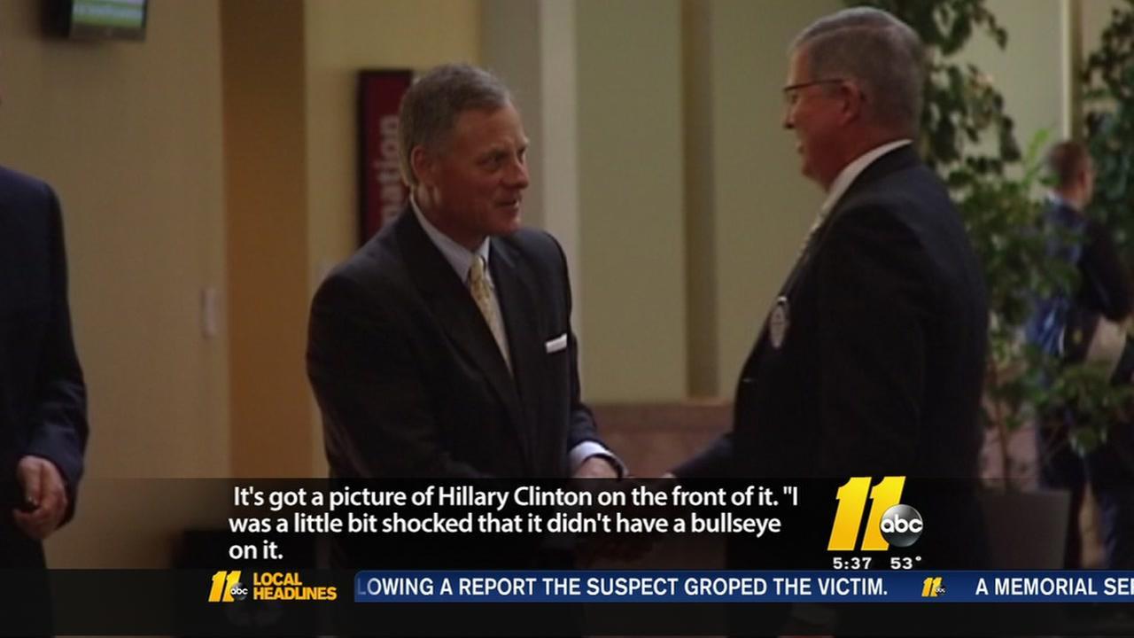 Sen. Burr apologizes for Clinton comment