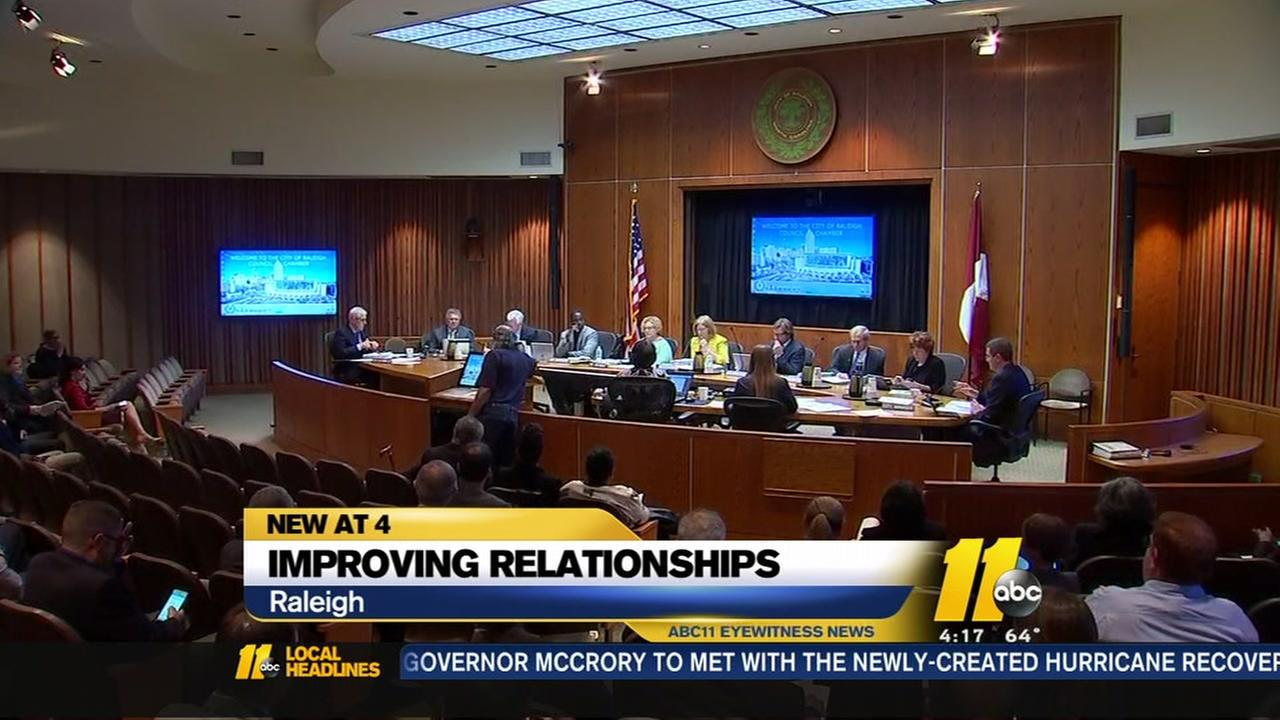 Raleigh leaders aim to improve police-community relations