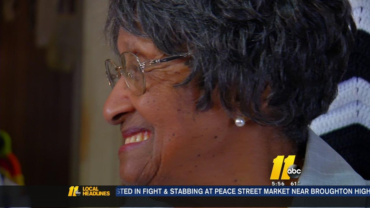 104-year-old Durham woman casts her vote