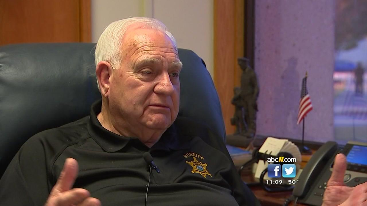 Cumberland County Sheriff says it is time to step down