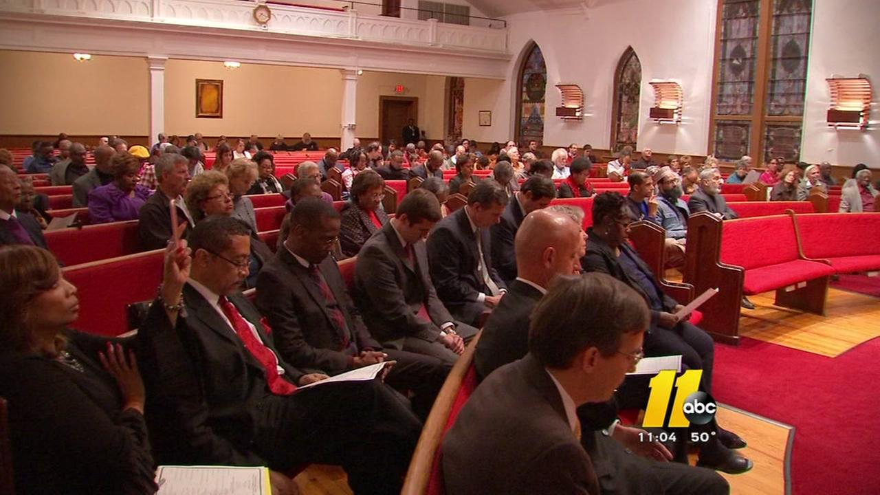 Interfaith service held for those dejected by election results