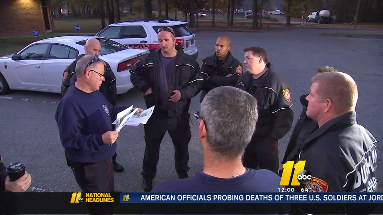 Durham FD joins fight against wildfires