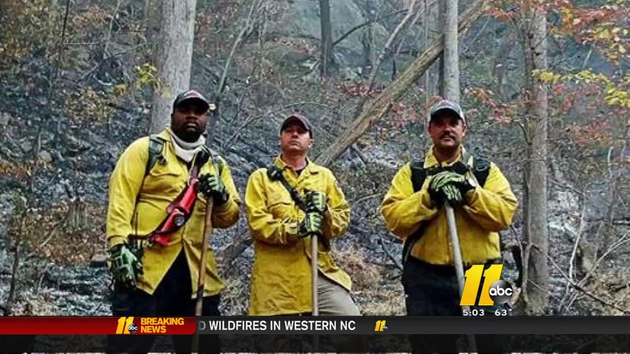 Spring Lake firefighters return from mountains