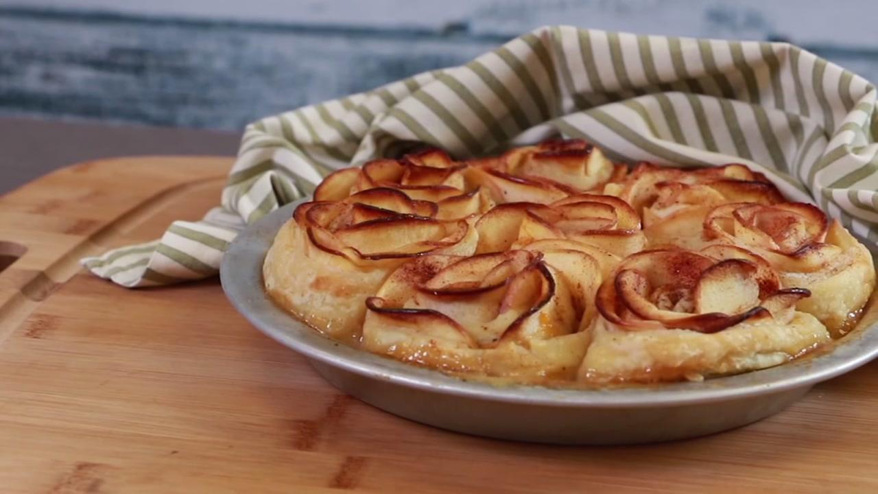 The Chew recipe: Apple rose pie