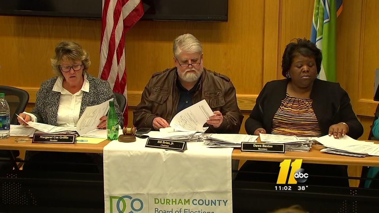 Mired in protests, Durham County counts ballots