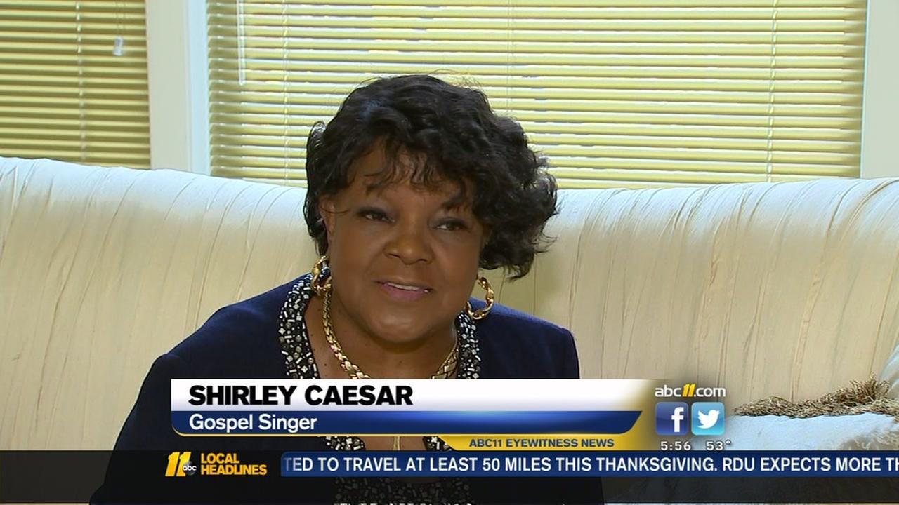 Shirley Caesar tries to make sense of new viral fame