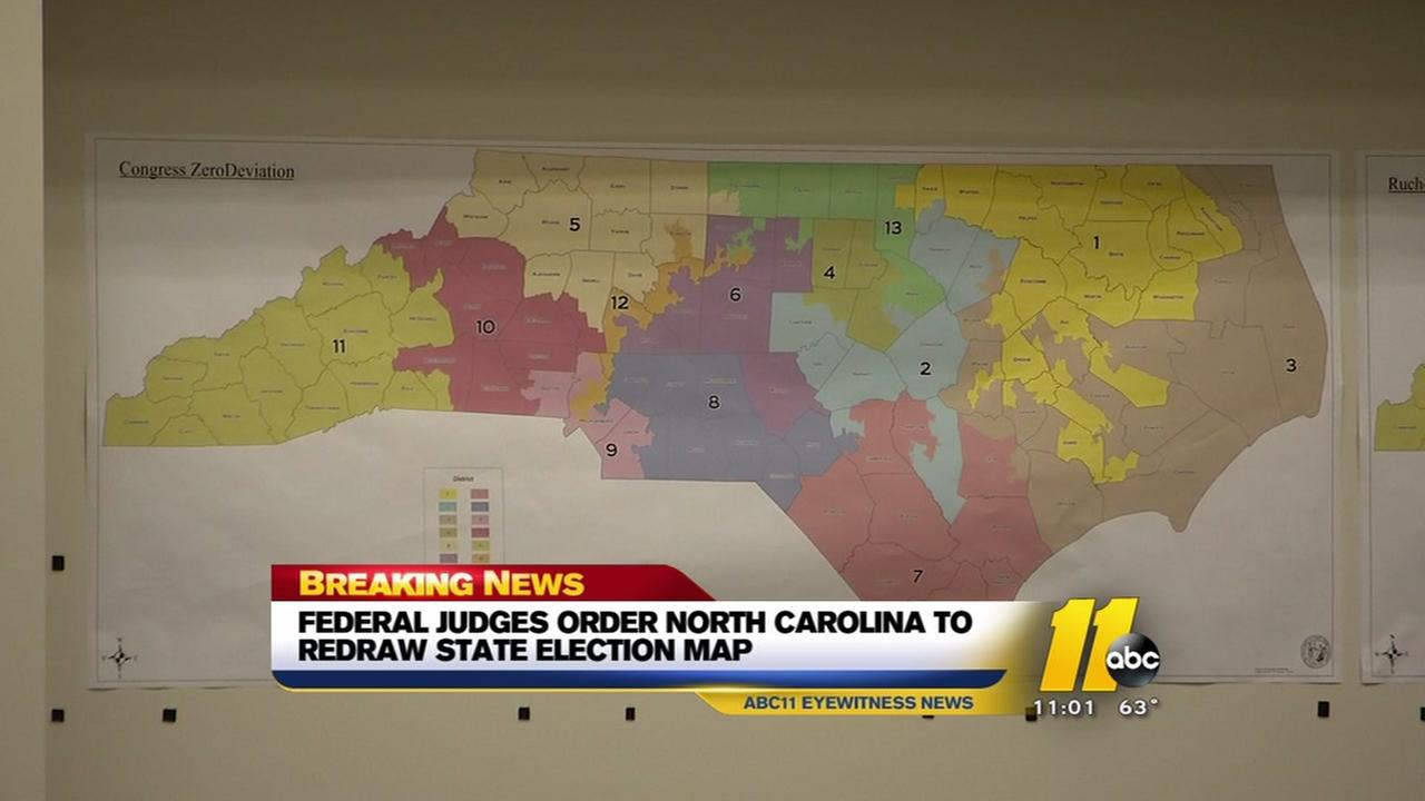 State ordered to redraw election map