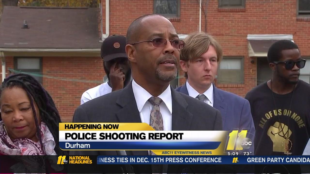 Reaction to Durham police shooting report