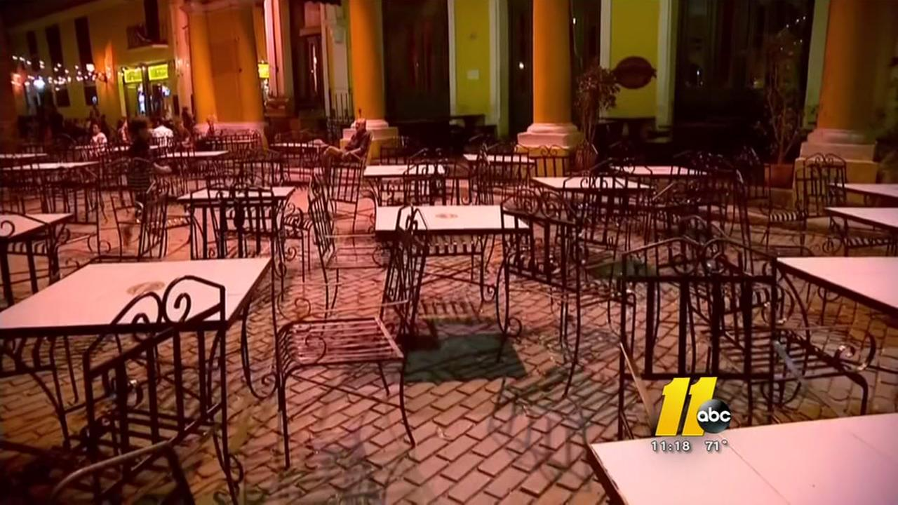 Somber surprise greets NC tourists in Cuba